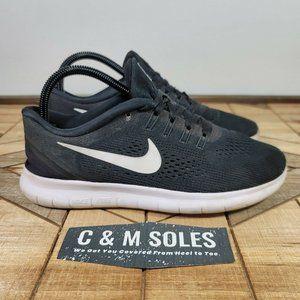 Nike Free RN Women's Shoes Size 8.5 Black Running